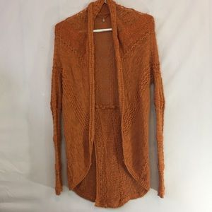 Anthropologie Knitted and Knotted cardigan size XS